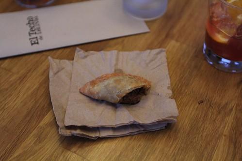 Empanada de Alambre - El Techo de Lolinda