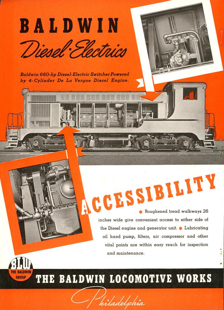 Baldwin diesel locomotive ad