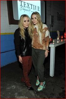 Mary Kate Olsen Leather Vest Celebrity Style Women's Fashion