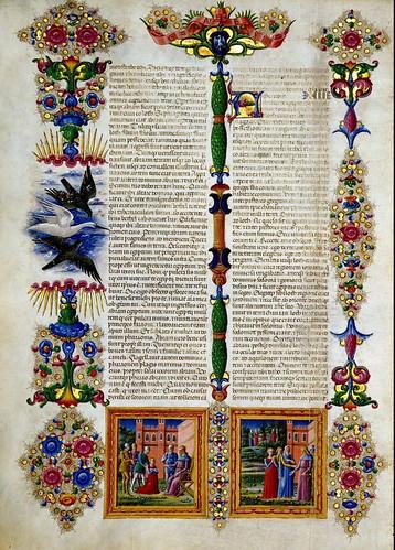 007-Bibbia di Borso d'Este-Vol 1- Hoja 20- Biblioteca Estense de Módena
