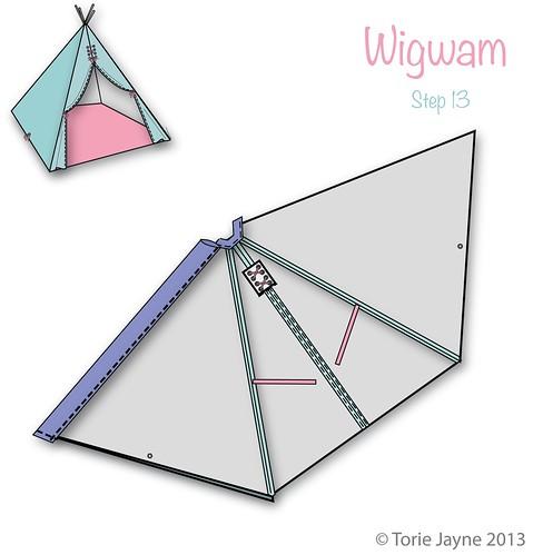 Wigwam Step 13