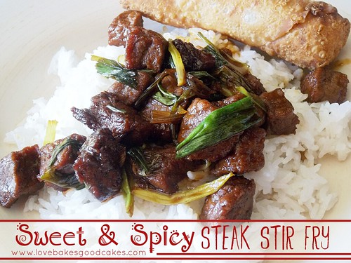 Sweet and Spicy Steak Stir Fry