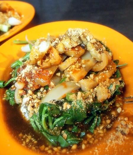 Hock Chin, Melaka - siham, cockles, sotong kangkung -010