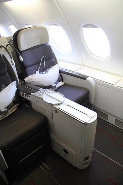 Classe executiva da Air France - A380