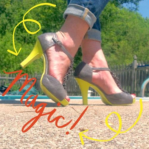 DIY hawt weather shoes ;)