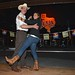 Simona De Silvestro tries out line dancing at Billy Bob's in Fort Worth