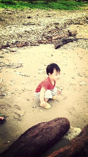 173 海邊散步