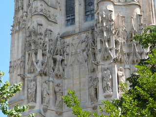 Tour de Saint Jacques, Paris