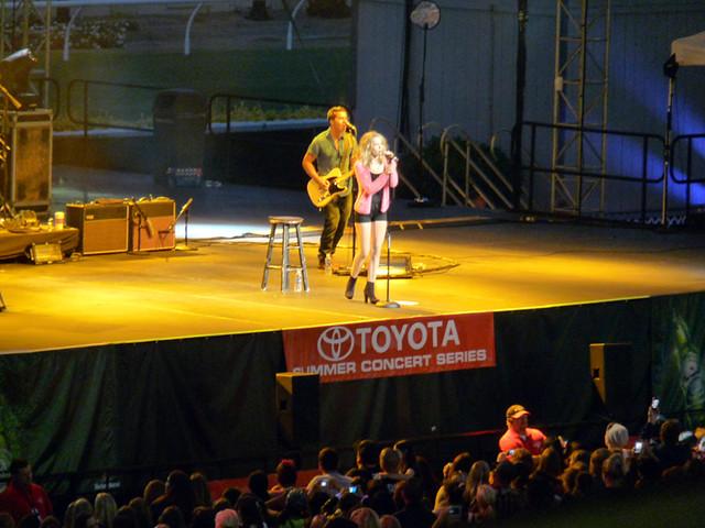 Bridget Mendler Concert @ San Diego Fair
