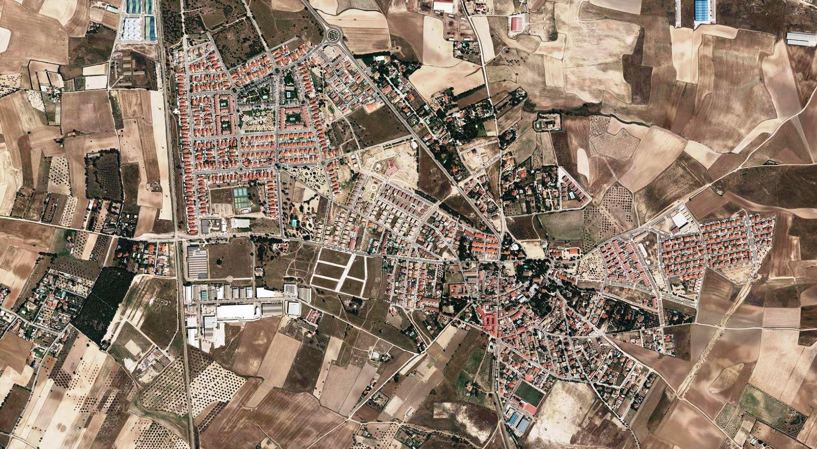 después, urbanismo, foto aérea,desastre, urbanístico, planeamiento, urbano, construcción,Cubas de la Sagra, Madrid