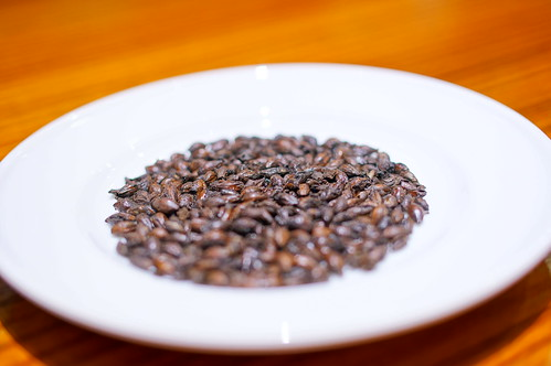 deep roasted malt
