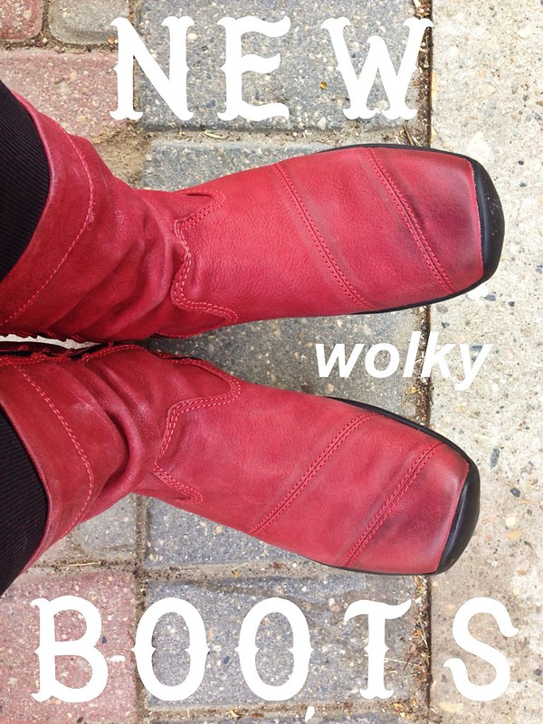 I got new Wolky boots at @BrainsportSK