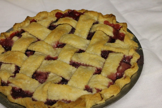 Red Raspberry Pie Recipe