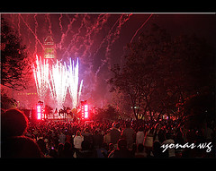4th of July celebration at Grand Park Los angels