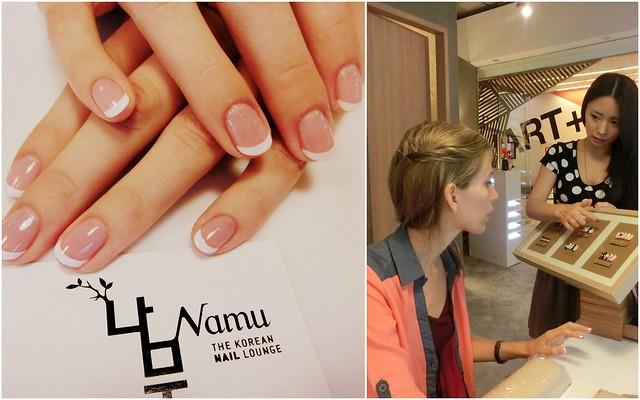 Manicure at Namu Nail Lounge