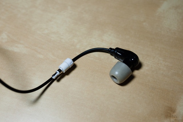 收納狀態:與耳機合體