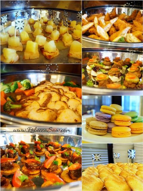 KLCC harrods cafe - tea, scones, sandwiches, cakes 1