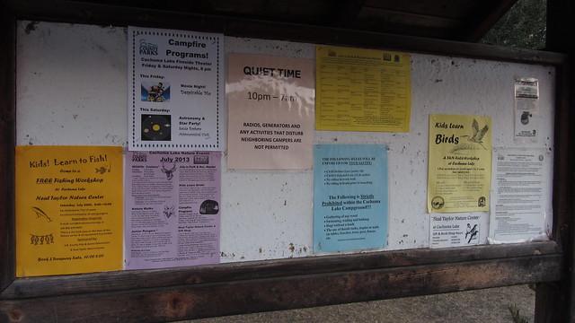 IMG_1494 SBAU Cachuma Lake Fireside theatre posters
