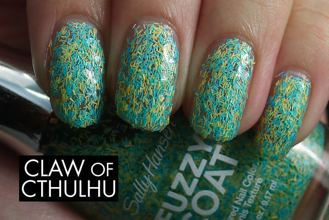 Sally Hansen Fuzzy Coat Fuzz-Sea Swatch