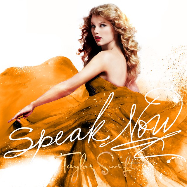 Speak Now cover - Bright Orange