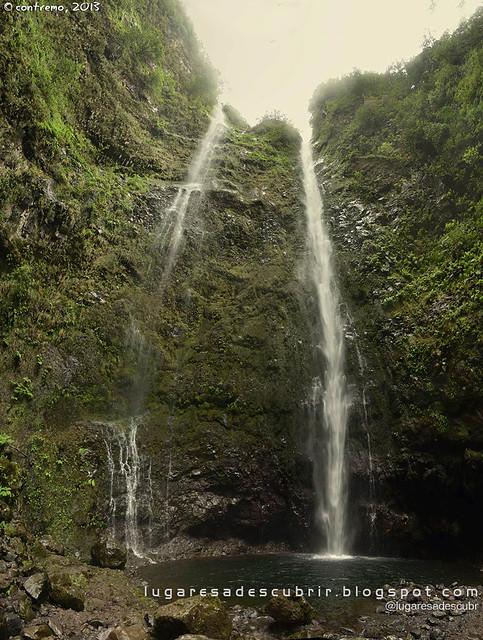 Cascata do Caldeirão Verde (Santana, Madeira)
