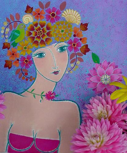 Dahlia Garden Muse-6.3x7