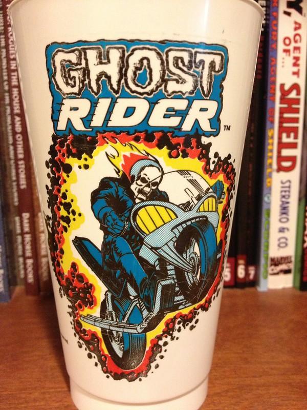 Ghost Rider Slurpee cup