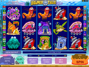 Dolphin Tale Slot Machine