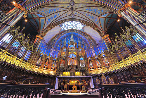 Church of Montreal (15) - Notre-Dame Basilica (Explore 2013-09-09)