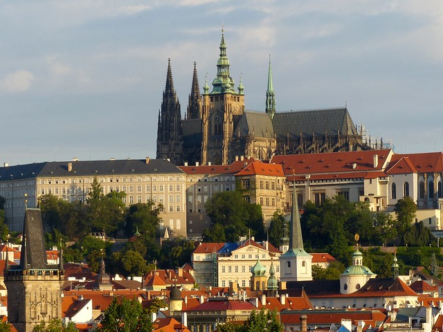 Prague Castle in the morning