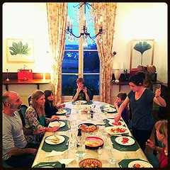 Dinner at the Chateau. #France #Chateau - Photo of Bridoré