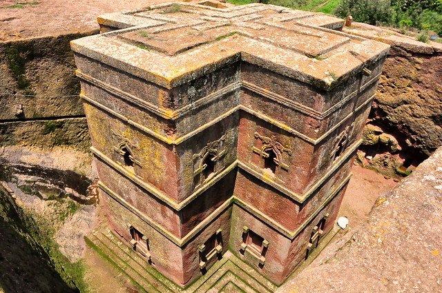 Biet Gyiorgis Church, Lalibela