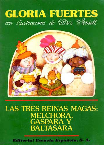 Cubierta de Las tres reinas magas (teatro en verso)