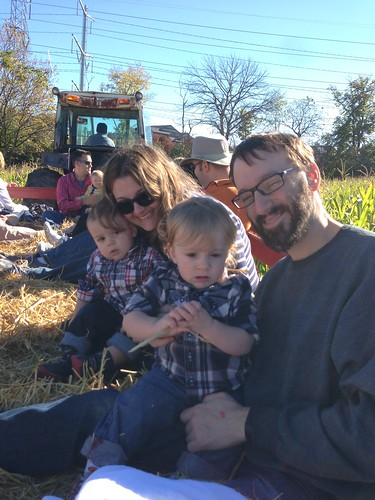 Family Hay Ride