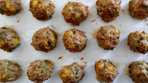 Turkey Sweet Corn Meatballs