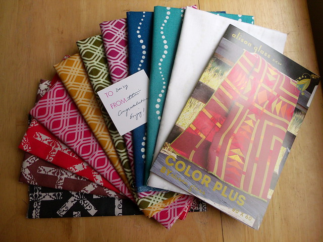 Alison Glass fabric & quilt pattern!