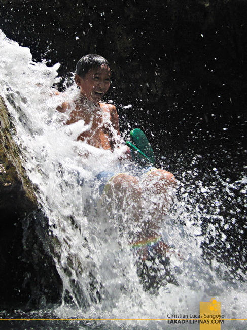 Enjoying the Dalipuga Falls in Iligan City