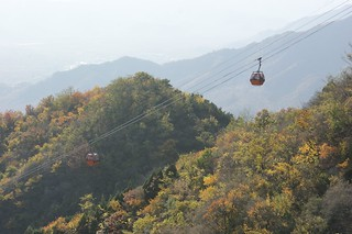 Mutianyu's Cable Car