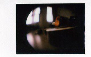 lca + back instax film Fish eye lens