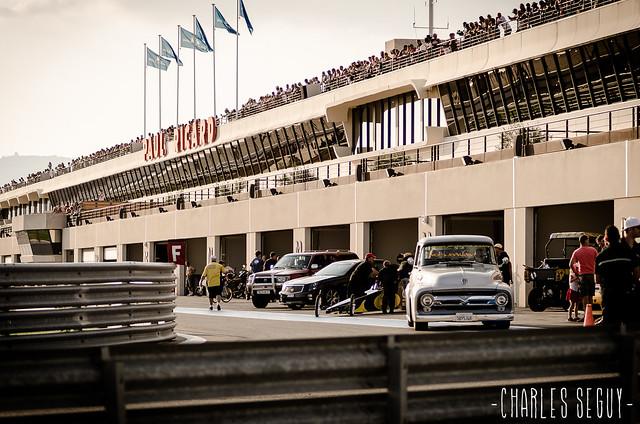 Les paddocks de la Castellet Drag Race 2013.