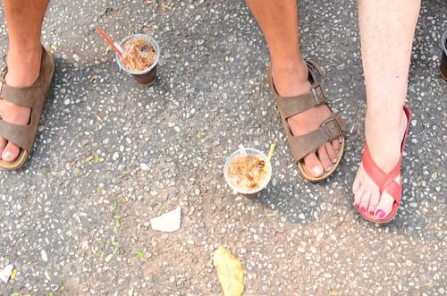 feet, coffee
