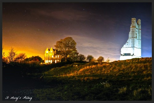 longexposure ireland castle night landscape trim stmarysabbey november2013 fujifilmxe1 fujixe1