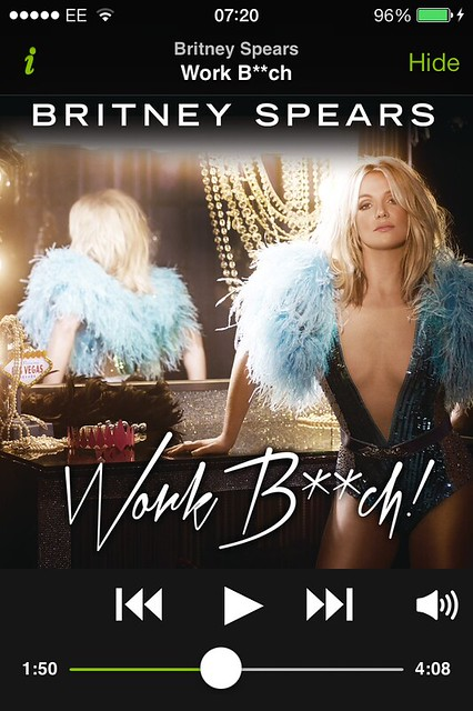 Britney Spears - Work B**tch