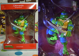 "AMERICAN GREETINGS :: TEENAGE MUTANT NINJA TURTLES - ""Leonardo"" Ornament ii (( 2013 ))"