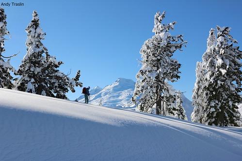 Mt Baker skier Mike Traslin