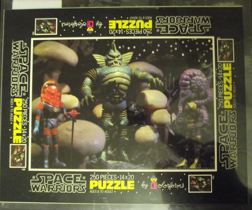 Space Warriors puzzle proof sheets, cards, and color separations 11282370793_461aa27a8b