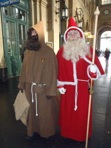 St. Nicholas and Krampus | by terriem
