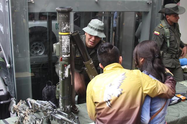 Las Armas de La Policia Nacional de Colombia