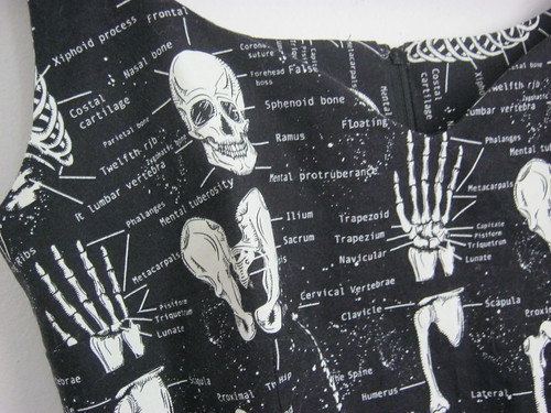 skeleton sultry sheath gerties book for better sewing print