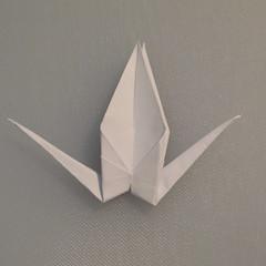 วิธีพับกระดาษเป็นรูปนกกระเรียน 013